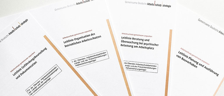 Leitlinien Aufsichtshandeln (refer to: Occupational safety and health objectives)
